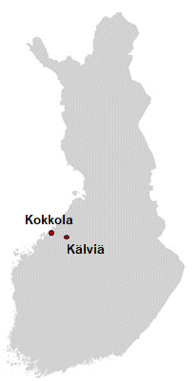 Location in Finland